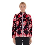 Love Heart Splatter Winter Jacket