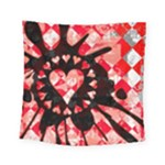 Love Heart Splatter Square Tapestry (Small)
