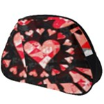 Love Heart Splatter Full Print Accessory Pouch (Big)