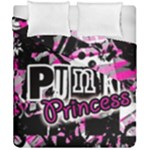 Punk Princess Duvet Cover Double Side (California King Size)