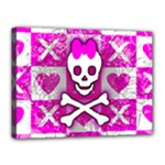 Skull Princess Canvas 16  x 12  (Stretched)