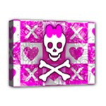 Skull Princess Deluxe Canvas 16  x 12  (Stretched)