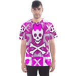 Skull Princess Men s Sports Mesh Tee