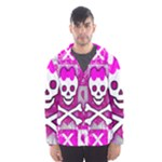 Skull Princess Men s Hooded Windbreaker