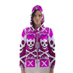 Skull Princess Women s Hooded Windbreaker