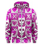 Skull Princess Men s Zipper Hoodie
