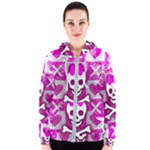 Skull Princess Women s Zipper Hoodie