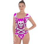 Skull Princess Short Sleeve Leotard