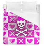 Skull Princess Duvet Cover (Queen Size)