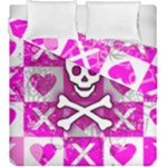 Skull Princess Duvet Cover Double Side (King Size)