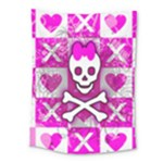 Skull Princess Medium Tapestry