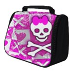 Skull Princess Full Print Travel Pouch (Small)