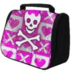 Skull Princess Full Print Travel Pouch (Big)