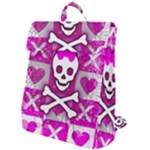 Skull Princess Flap Top Backpack
