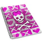 Skull Princess 5.5  x 8.5  Notebook