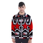 Star Checkerboard Splatter Men s Windbreaker