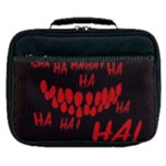 Demonic Laugh, Spooky red teeth monster in dark, Horror theme Lunch Bag