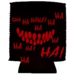 Demonic Laugh, Spooky red teeth monster in dark, Horror theme Can Holder