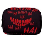 Demonic Laugh, Spooky red teeth monster in dark, Horror theme Make Up Pouch (Small)