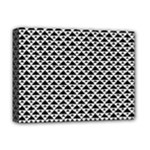 Black and white Triangles pattern, geometric Deluxe Canvas 16  x 12  (Stretched)