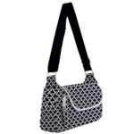 Black and white Triangles pattern, geometric Multipack Bag