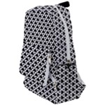 Black and white Triangles pattern, geometric Travelers  Backpack