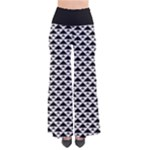 Black and white Triangles pattern, geometric So Vintage Palazzo Pants