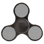 Black and white Triangles pattern, geometric Finger Spinner