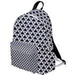 Black and white Triangles pattern, geometric The Plain Backpack