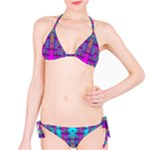 Tropical Rainbow Fishes  In Meadows Of Seagrass Classic Bikini Set