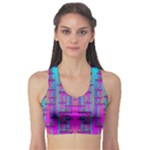 Tropical Rainbow Fishes  In Meadows Of Seagrass Sports Bra