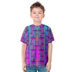 Tropical Rainbow Fishes  In Meadows Of Seagrass Kids  Cotton Tee