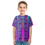 Tropical Rainbow Fishes  In Meadows Of Seagrass Kids  Sport Mesh Tee