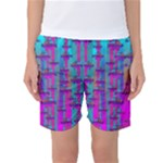 Tropical Rainbow Fishes  In Meadows Of Seagrass Women s Basketball Shorts