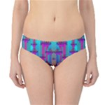 Tropical Rainbow Fishes  In Meadows Of Seagrass Hipster Bikini Bottoms