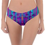 Tropical Rainbow Fishes  In Meadows Of Seagrass Reversible Classic Bikini Bottoms