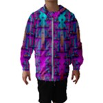 Tropical Rainbow Fishes  In Meadows Of Seagrass Kids  Hooded Windbreaker