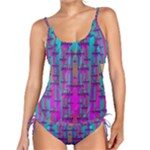 Tropical Rainbow Fishes  In Meadows Of Seagrass Tankini Set