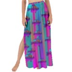 Tropical Rainbow Fishes  In Meadows Of Seagrass Maxi Chiffon Tie-Up Sarong