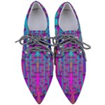 Tropical Rainbow Fishes  In Meadows Of Seagrass Pointed Oxford Shoes