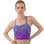 Tropical Rainbow Fishes  In Meadows Of Seagrass Mini Tank Bikini Top