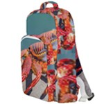 Colored Crab, Galapagos Island, Ecuador Double Compartment Backpack