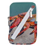 Colored Crab, Galapagos Island, Ecuador Belt Pouch Bag (Large)