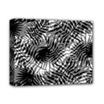 Tropical leafs pattern, black and white jungle theme Deluxe Canvas 14  x 11  (Stretched)