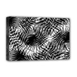 Tropical leafs pattern, black and white jungle theme Deluxe Canvas 18  x 12  (Stretched)