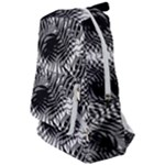 Tropical leafs pattern, black and white jungle theme Travelers  Backpack