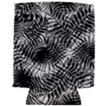 Tropical leafs pattern, black and white jungle theme Can Holder