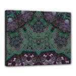 Mandala Corset Canvas 20  x 16  (Stretched)