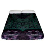 Mandala Corset Fitted Sheet (Queen Size)