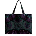 Mandala Corset Zipper Mini Tote Bag